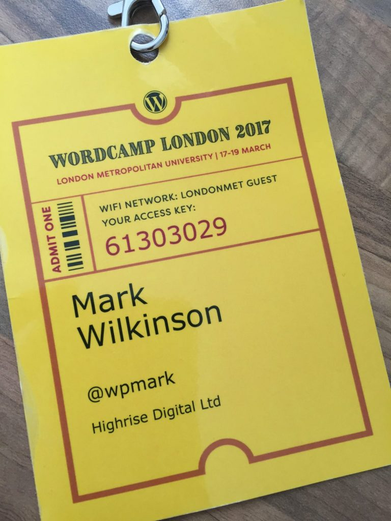 WordCamp Badge