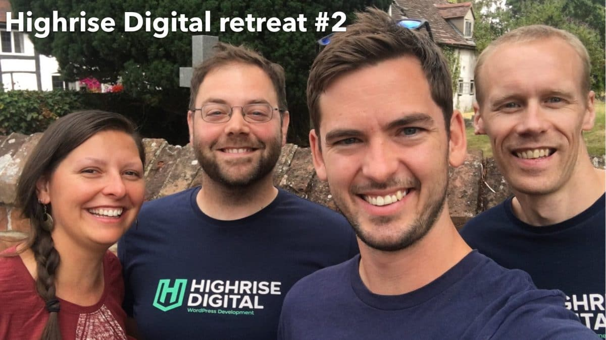 Highrise Digital retreat #2 – Clifford Chambers