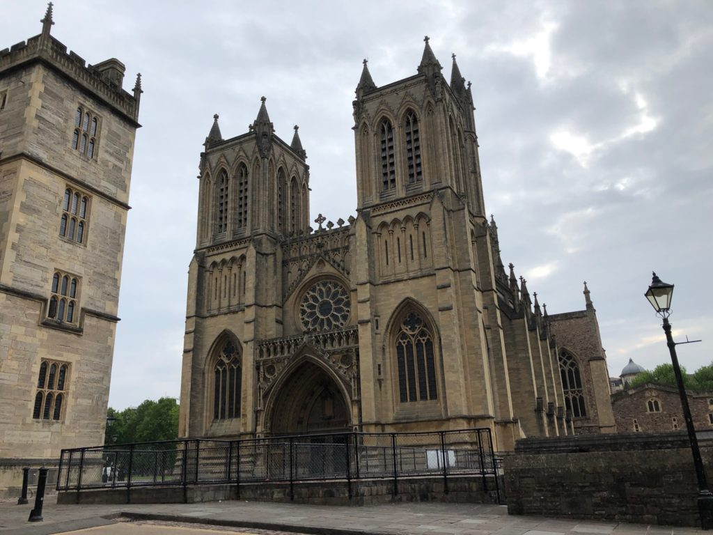 A view of Bristol Cathedral