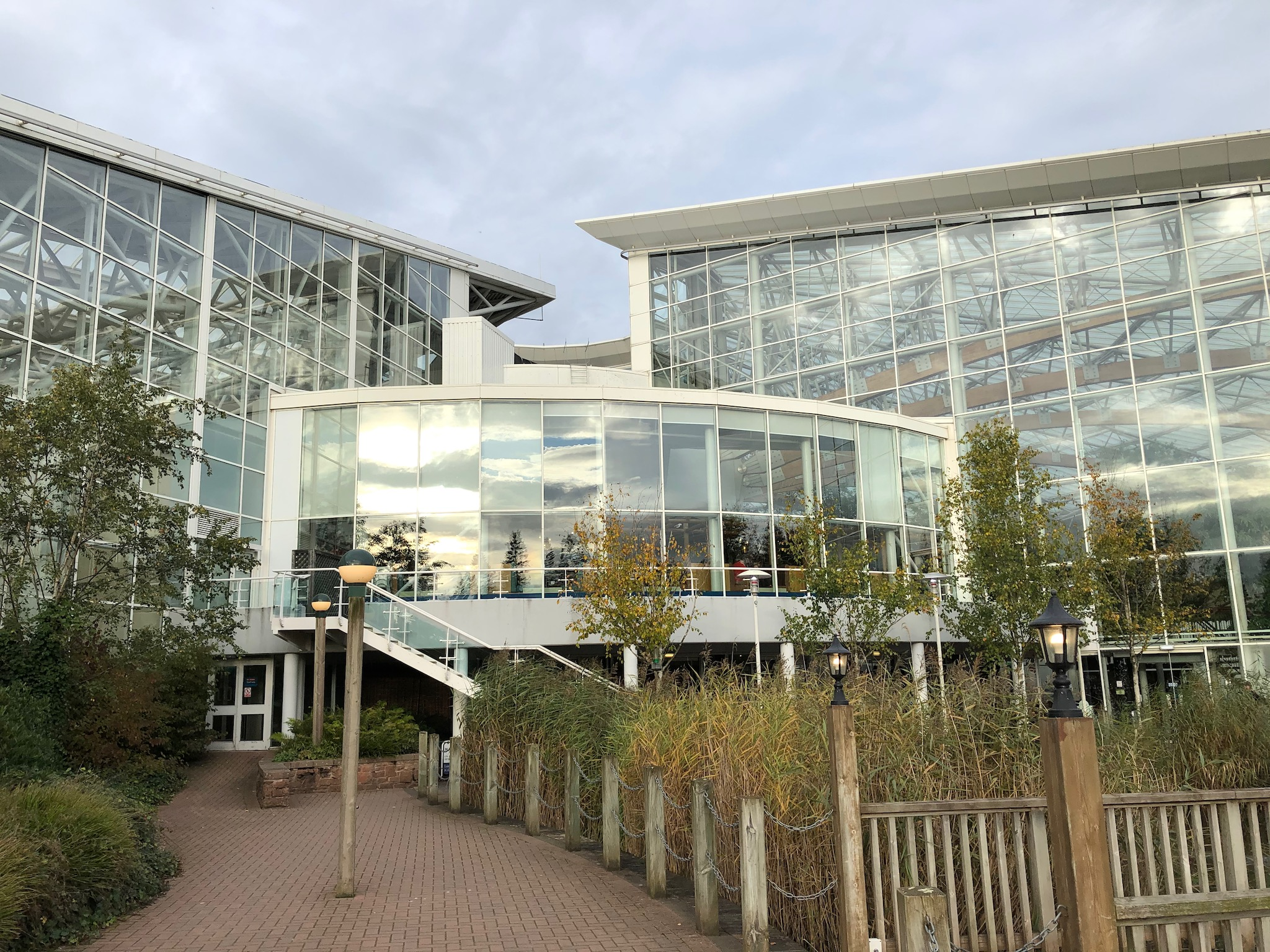 Photo of the village centre at Center Parcs Whinfell Forest